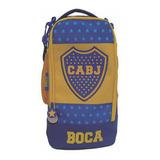 Bolso Botinero Futbol Boca Juniors Original Bo001 Mundomania