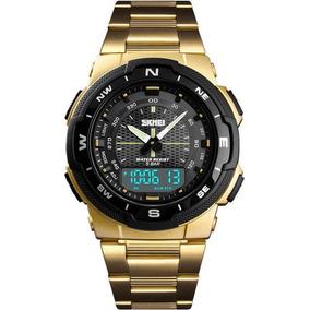52af6c1d96d Relogio Dourado - Relógio Masculino em Minas Gerais no Mercado Livre ...