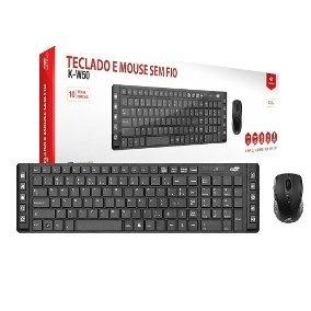 Kit Teclado Mouse Sem Fio K-w10 C3tech