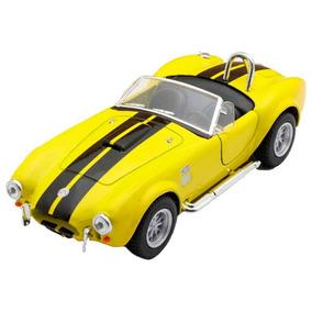 Miniatura 1965 Shelby Cobra Escala 1:32 Amarelo