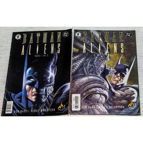 Batman Versus Aliens Em 2 Edições
