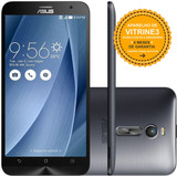 Asus Zenfone 2 Ze551ml 32/4gb Dual 13mp Prata Vitrine 3