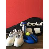 Tênis Asics Kit Tênis Com Raquete Babolat