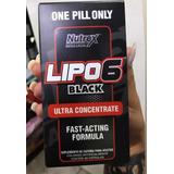 Lipo 6 Black Uc Nutrex 60cáps Ultra Termogênico Concentrado