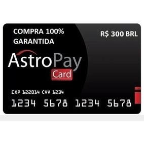 Cartão Card Astropay Brl 300