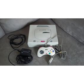 Console Sega Saturn Branco Japones