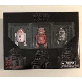 Star Wars The Black Series Pack 3 Astromech R2a3 R5k6 R2f2