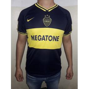 Camiseta Boca 2007 Megatone Retro Juan Roman Riquelme