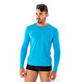 Kit 3 Camisas Masculinas Esporte Térmicas Proteção Uv