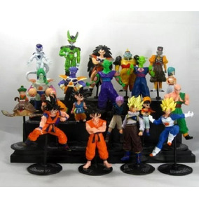 Dragon Ball Z Gt Kit C/ 20 Bonecos Goku Gohan Pronta Entrega