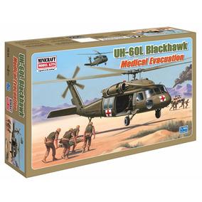 Kit Minicraft Helicóptero Uh-60l Blackhawk 1/48 Plastim