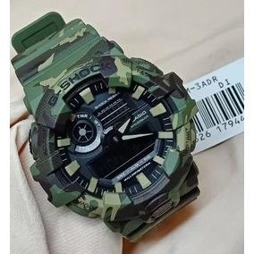 c6ada833997 Relogio G Shock Ga 700 Verde - Relógios De Pulso no Mercado Livre Brasil