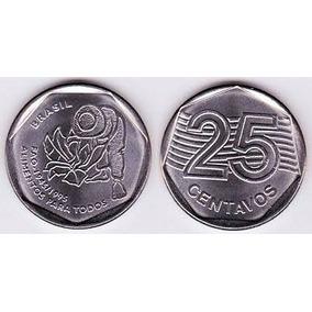 Moeda Fao 25 Centavos