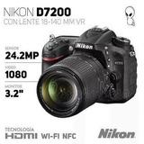 Camera Nikon D7200 Kit 18-140mm Vr 24.2mp Full Hd