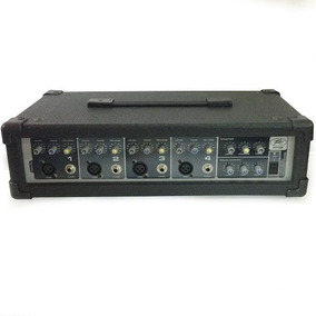 Mezclador Amplificado Peavey Pvi 4b 4 Canales 100 W Oferta