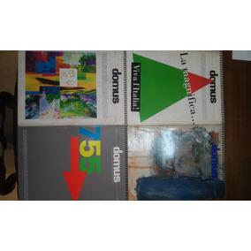 Lote 4 Revistas Domus Jun/1993, Mai/1993, Nov/1993, Dez/1993