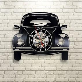 Relógio D Parede, Vw, Fusca, Carro, Decoração, Retrô