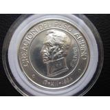 Moneda Medalla Plata Pura 999 Conmemorativa Peso Andino Peru