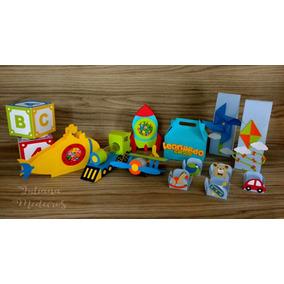 dcc5a36f0e7a4 Kit Festa Brinquedos Silhouette - Artesanato no Mercado Livre Brasil