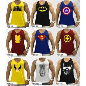 Regata Masculina Cavada Camiseta Regatas Academia Original