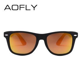 6e55bd65b8586 Óculos De Sol Polarizado Masculino Feminino Cor Orange