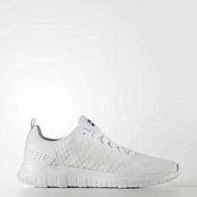 Tenis adidas Cloudfoam Lite Flex Blanco Monocromo 23-25