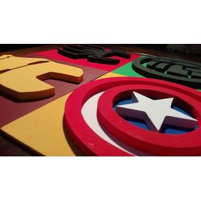 Cuadros Infantiles 3d Superheroes - Decoración para el Hogar en ... 44c67e9330c