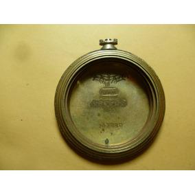 Antigua Caja Para Reloj De Bolsillo Marca Mido. Chapa Oro