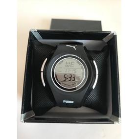 Reloj Puma Digital Con Luz Electroluminicente Negro