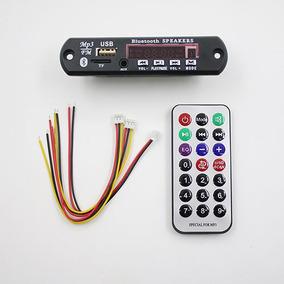 Placa Decodificador Usb, Sd Card, Mp3 E Bluetooth 12v