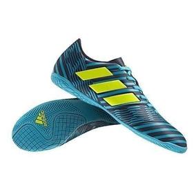 Chuteira Adidas Futsal Preta Com Verde - Chuteiras no Mercado Livre ... 920aab83fea04