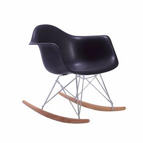 Silla Eames Sillas Modernas Mecedora Con Brazo Sillas Negra