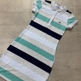 b595264e2c9d8 Liquidação Vestido Lacoste Nova Moda Agora Promoção Original