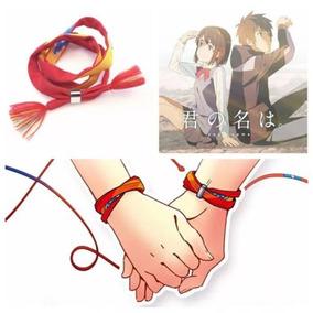 Bracelete Filme Your Name Kimi No Na Wa - C/ Fecho - 60 Cm.