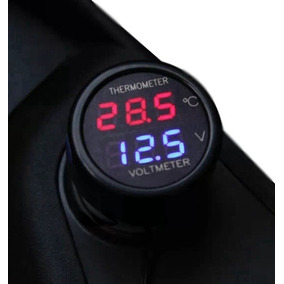 f62509db777 Voltimetro Termometro Digital Automotivo - Acessórios para Veículos ...