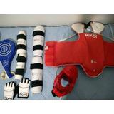Protetor E Raquete Taekwondo
