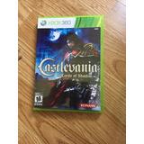 Castlevania Lords Of Shadow -juego -xbox 360