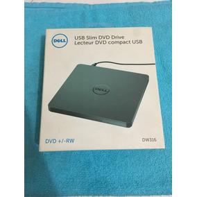 Gravador De Dvd/rw Slim Externo Dell Dw316