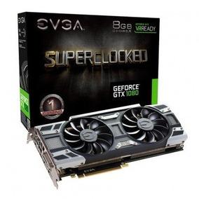 Placa De Vídeo Evga Geforce Gtx 1080 8gb Sc Gaming 256 Bits