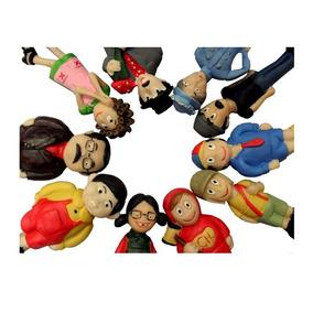 Turma Do Chaves Miniatura Em Resina 12 Bonecos