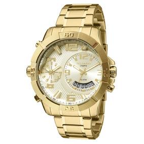 5f1d48aed7a Pulseira Technos Legacy Dourado - Relógios De Pulso no Mercado Livre ...