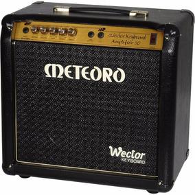 Cubo Amplificador Meteoro Para Teclado Wector Especial 50w