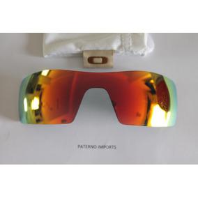 4fc495867b212 Oculos Oakley Oil Rig Branco Lentes Ruby Original De Sol - Óculos no ...