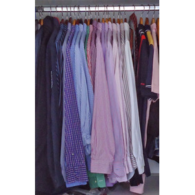 Lote 10 Camisas Sociais Masculinas Longas Usadas Roupas