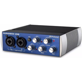 Interface Presonus Audiobox 2 Canais
