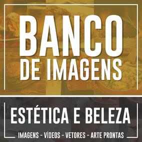 Banco De Imagens Vídeos Estética E Beleza - Envio Imediato
