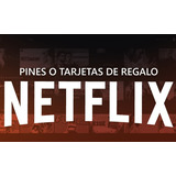 Pin Virtual O Tarjeta Regalo De Netflix - Original Colombia