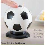 Dispensador De Palillos En Forma De Balon Plástico 8x9cm