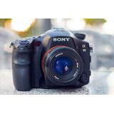 Kit Sony A99 Full Frame Con 50mm A 1.7 Y 18-250 Original