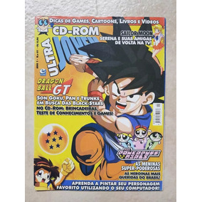 Revista Ultra Jovem 1 Dragon Ball Gt Goku Freeza Sayajin Box